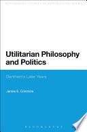 Utilitarian Philosophy and Politics