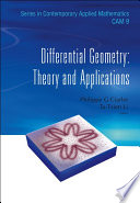Differential Geometry  Theory and Applications