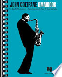 John Coltrane   Omnibook for Bass Clef Instruments
