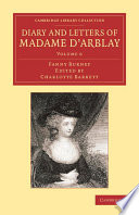 Diary and Letters of Madame D Arblay  Volume 6