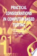 Practical Considerations in Computer Based Testing