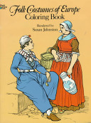 Folk Costumes of Europe Colouring Book