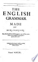 The English Grammar