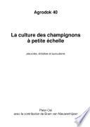 AD40F La culture des champignons    petite   chelle