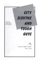 City sleuths and tough guys