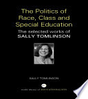 The Politics of Race  Class and Special Education