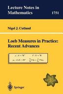 Loeb Measures in Practice: Recent Advances