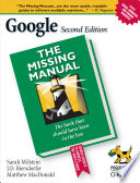 Google  The Missing Manual