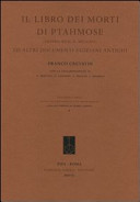 Il libro dei morti di Ptahmose  Papiro Busca  Milano  ed altri documenti egiziani antichi