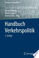 Handbuch Verkehrspolitik