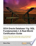 OCA Oracle Database 11g  SQL Fundamentals 1