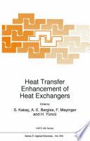 Heat Transfer Enhancement of Heat Exchangers