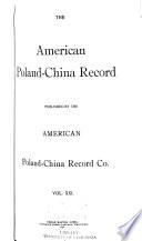 American Poland China Record Book PDF