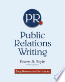 Public Relations Writing  Form   Style