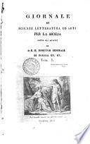 Giornale di scienze  letteratura ed arti per la Sicilia