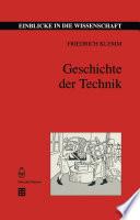 Geschichte der Technik
