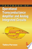 Textbook Of Operational Transconductance Amplifier And Analog Integrated Circuits