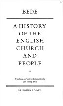 Bede a History of the English Church and People