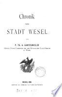 Chronik der Stadt Wesel