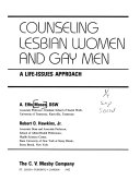 Counseling lesbian women and gay men