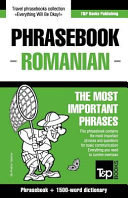 English Romanian Phrasebook And 1500 Word Dictionary