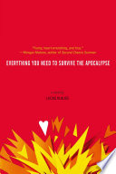 Ebook Everything You Need to Survive the Apocalypse Epub Lucas Klauss Apps Read Mobile