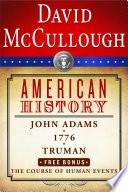 David Mccullough American History E Book Box Set