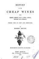 Report on the cheap wines from France  Italy  Austria  Greece  and Hungary