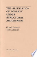 The Alleviation of Poverty Under Structural Adjustment