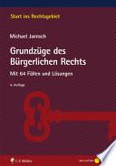 Jaensch, Grundzüge des Bürgerlichen Rechts