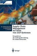 Supply Chain Management auf Basis von SAP Systemen