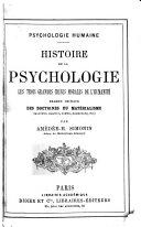 illustration du livre Psychologie humaine