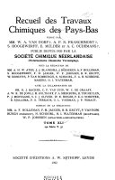 Journal of the Royal Netherlands Chemical Society
