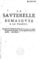 Book La Sauterelle démasquée à la France