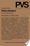 Policy-Analyse