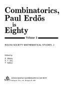 Combinatorics  Paul Erd  s is eighty