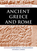 The Edinburgh Companion to Ancient Greece and Rome