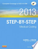 Step by Step Medical Coding  2013 Edition