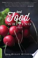 Book Best Food Writing 2015