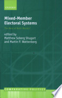 Mixed Member Electoral Systems