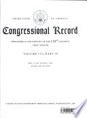 Congressional Record  V  153  PT  10  May 22  2007 to June 5  2007
