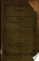 Esprit des doctrines médicales de Montpellier