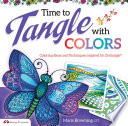 Time To Tangle With Colors : book offers lessons which enable...
