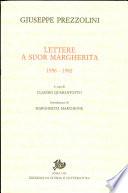 Lettere a suor Margherita  1956 1982