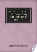 Correct Business Letter Writing and Business English