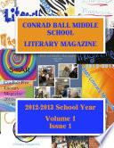 Conrad Ball Middle School Literary Magazine
