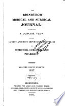 Edinburgh Medical And Surgical Journal