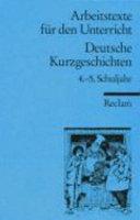 Deutsche Kurzgeschichten