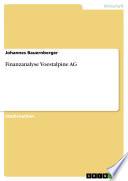 Finanzanalyse Voestalpine AG