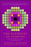 The Elements of Cooking Book